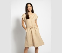 Kleid beige