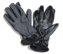 Handschuhe, Schwarz, Herren