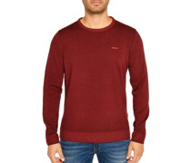 Pullover aus Wolle rot