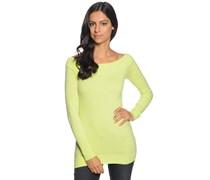 Pullover mit Kaschmir, lemon, Damen