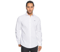 Hemd Regular Fit, Weiss, Herren
