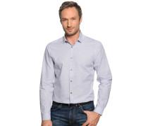 Business Hemd Regular Fit navy/weiß