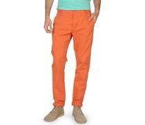 Chino, orange, Herren