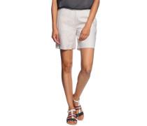 Shorts aus Leinen, beige, Damen