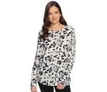 Blusenshirt, weiß/schwarz, Damen
