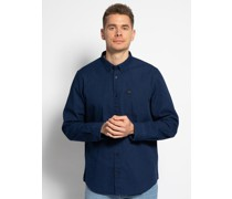 Langarm Hemd Regular Fit blau