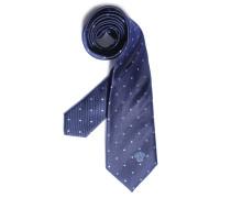 Krawatte, navy, Herren