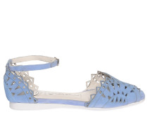 Sandalen, hellblau, Damen