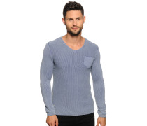 Pullover, grau blau, Herren
