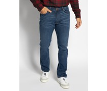 Jeans Greensboro Straight royalblau