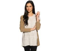Pullover, beige/braun, Damen