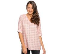 Blusenshirt, offwhite/pink, Damen