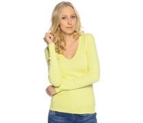 Pullover, gelb, Damen
