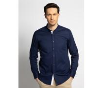 Hemd Regular Fit blau/weiß
