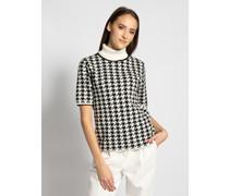 Strickshirt schwarz/weiß