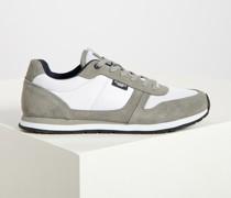 Sneaker grau/weiß