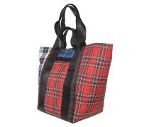 Shopping Bag rot/navy