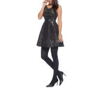 Kleid schwarz/silber