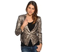 Blazer, gold, Damen