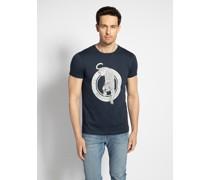 T-Shirt navy 08