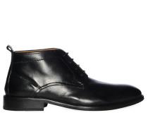 Schnürschuhe, schwarz, Herren
