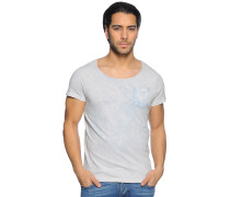 T-Shirt, hellgrau, Herren