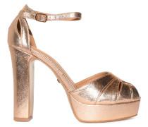 Plateau High Heels, Gold, Damen