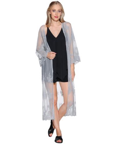Kimono grau