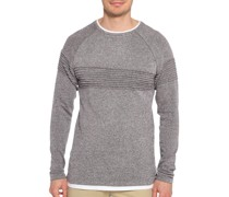 Pullover dunkelrot meliert