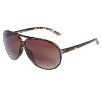 Sonnenbrille, braun, Unisex