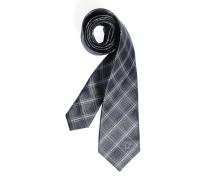 Krawatte, anthrazit/grau, Herren