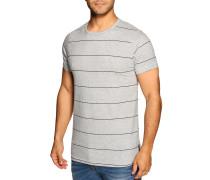 T-Shirt hellgrau meliert