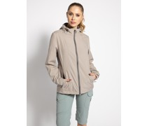 Funktionsjacke taupe