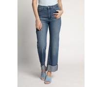 Jeans Flared blau