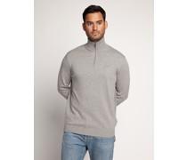 Pullover grau meliert