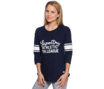 Sweatshirt, navy, Damen