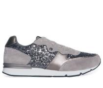 Sneaker, grau/silber, Damen