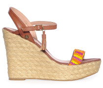 Wedges, Braun, Damen