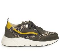 Sneaker khaki/beige