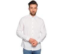 Hemd Custom Fit, bianco, Herren