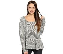 Sweatshirt, grau/braun, Damen