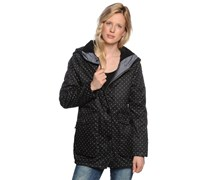 Lyra Jacket, tru blk mini dot, Damen