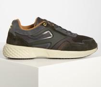 Sneaker schwarz/oliv