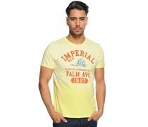 T-Shirt, hellgelb, Herren
