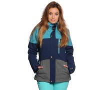 Ski-/Snowboardjacke, blau/grau, Damen