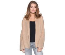 Strickjacke, Beige, Damen