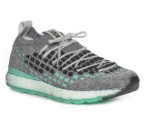 Sneaker mint/grau meliert
