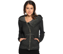 Sweatjacke, black, Damen