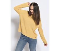 Pullover honiggelb