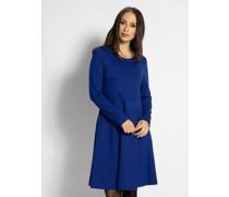 Business Jerseykleid blau